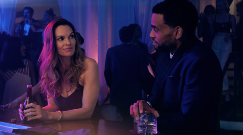 Hilary Swank stars as the temptress in Fatale